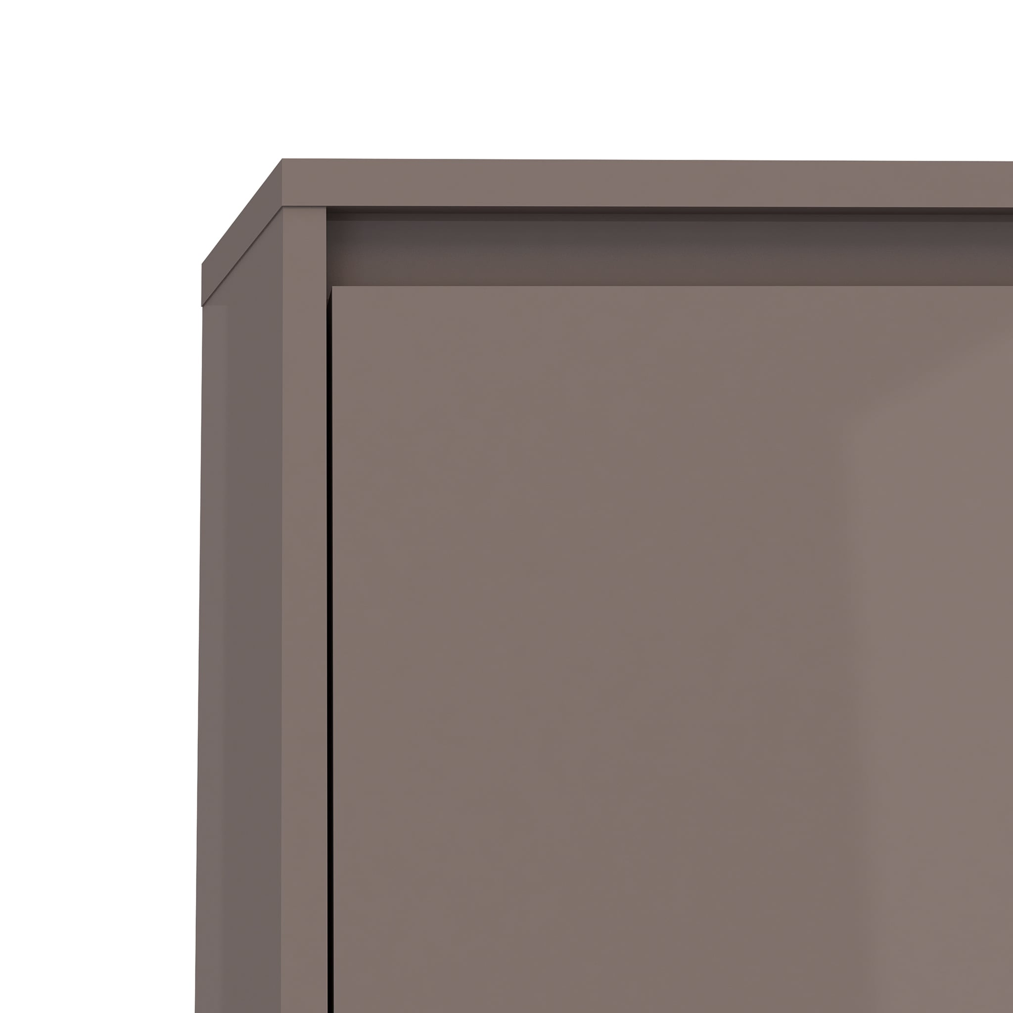 Tvilum Bright White/Espresso MDF 3 Drawer Shoe Cabinet   Free Shipping  Today   Overstock.com   18760566