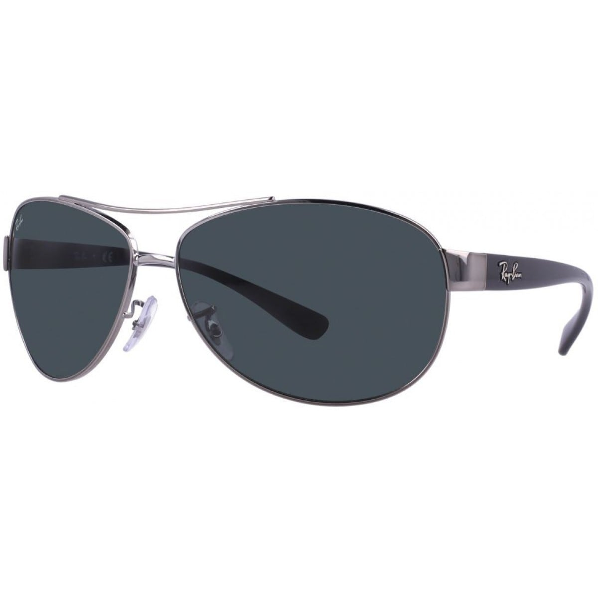 fa4e320813f Shop Ray Ban RB3386 004 71 Gunmetal Black Frame Green Classic 63mm Lens  Sunglasses - Free Shipping Today - Overstock - 11863067