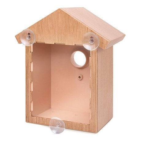 Shop As Seen On TV See Through Mirrored Bird House   On Sale   Free  Shipping On Orders Over $45   Overstock.com   11863558