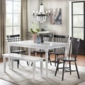 Simple Living Parma Dining Set with Dining Bench
