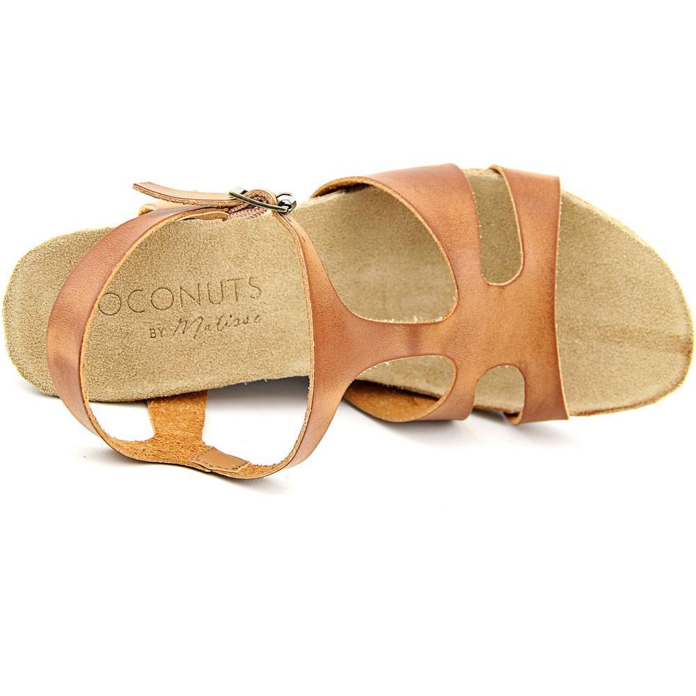99e3754b06e0 Shop Coconuts By Matisse Women s Metro Tan Faux Leather High-heel Wedge  Sandals - Free Shipping On Orders Over  45 - Overstock - 11865997