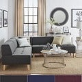 Soto Modern Upholstered Modular Sectional Seating iNSPIRE Q Modern