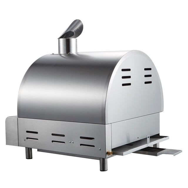 Mont Alpi Silver Stainless Steel Portable Pizza Oven - Free ...