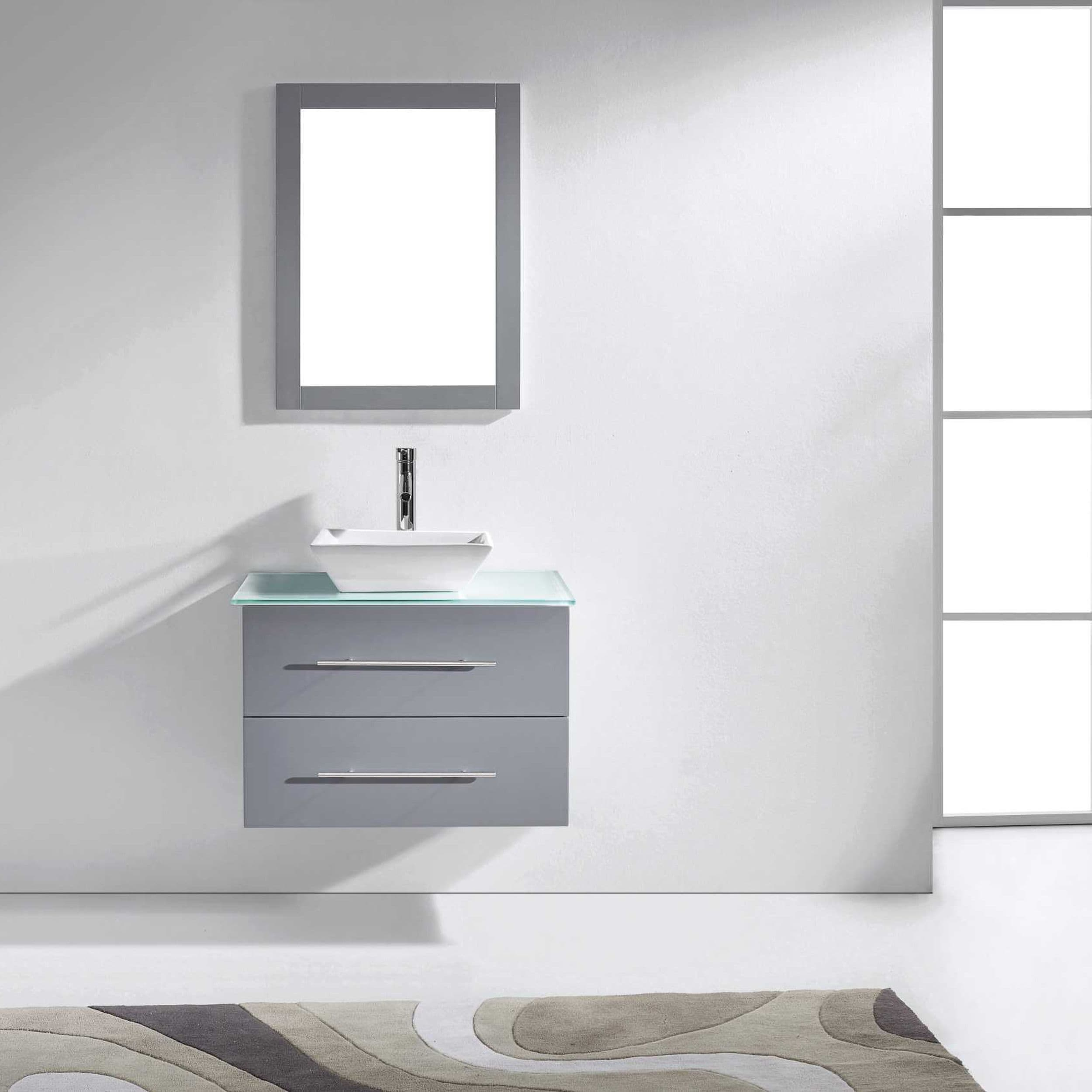 Shop Virtu USA Marsala 29-inch Single Bathroom Vanity Set - On Sale ...
