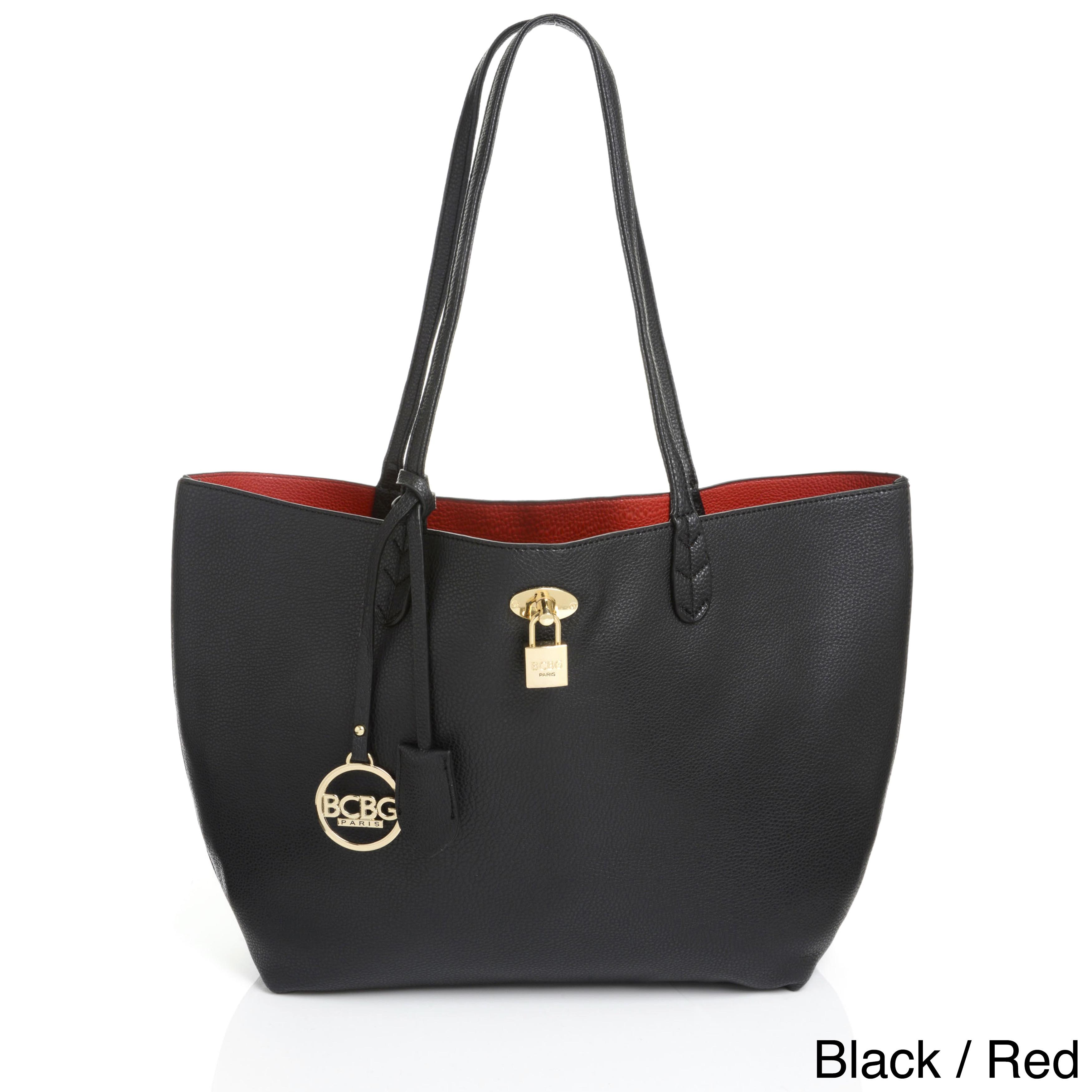 Bcbg Paris Reversible Lock Tote Bag Free Shipping Today 11878552
