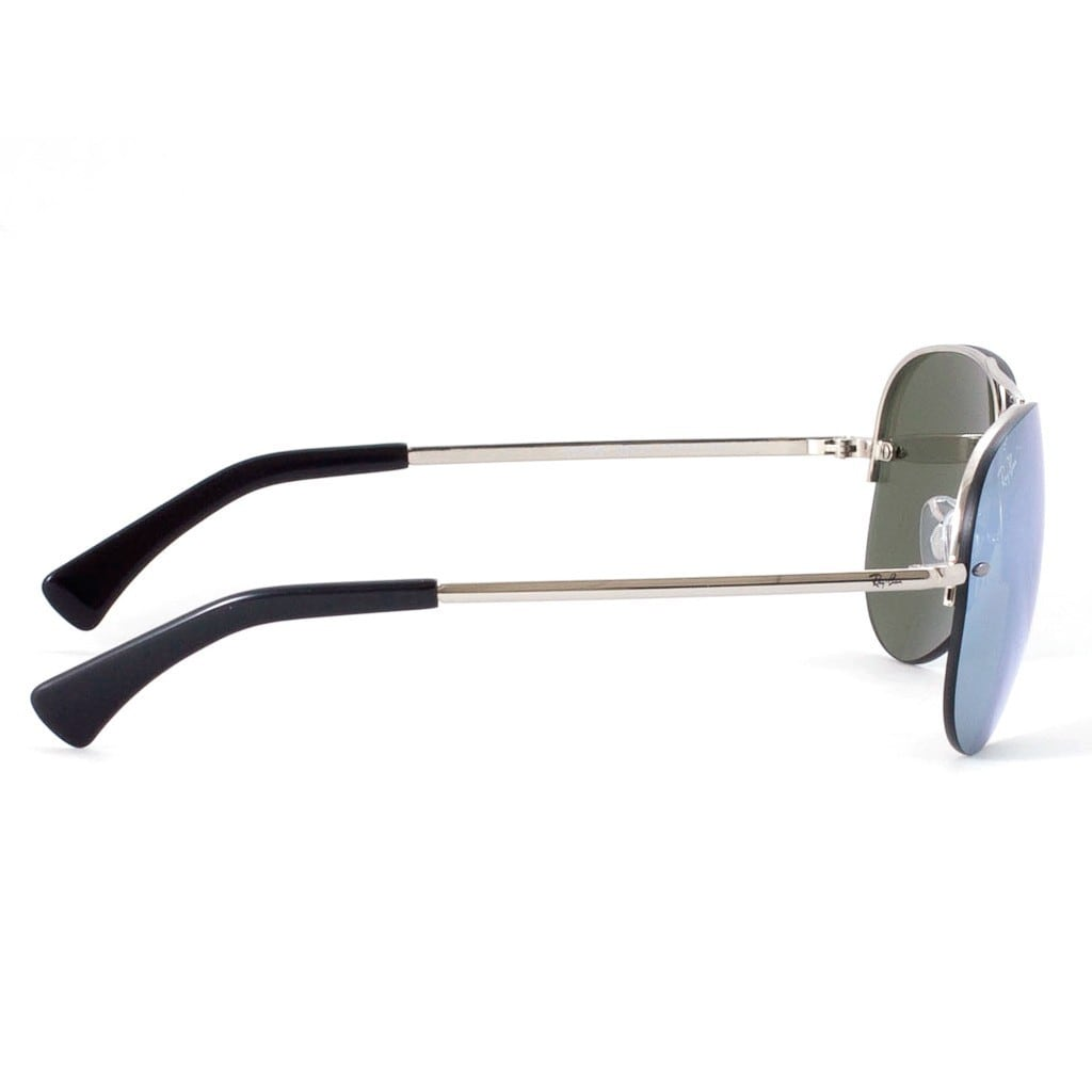d09c205f42 Shop Ray-Ban RB3449 003 30 Silver Frame Silver Mirror 59mm Lens Sunglasses  - Ships To Canada - Overstock.ca - 11879052