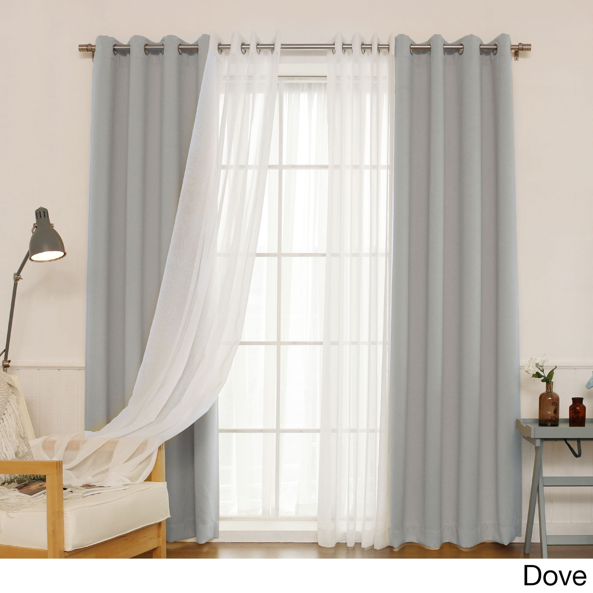 Sheer Drapes And Curtains