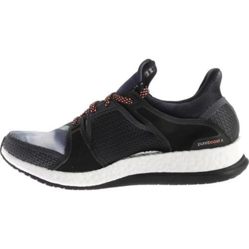 383e77434dd25 Shop Women s adidas Pure Boost X Trainer Black Dark Grey Sun Glow - Free  Shipping Today - Overstock - 11895453