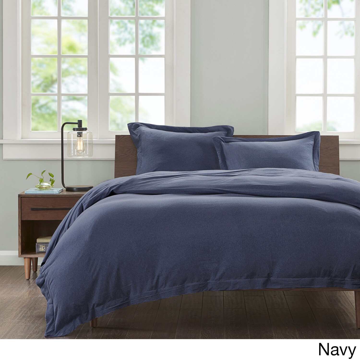 Carbon Loft Hammond Jersey Cotton 3 Piece Duvet Cover Set Free Shipping On Orders Over 45 11901495