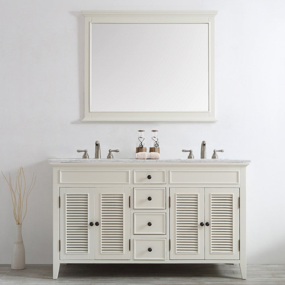 Shop Piedmont Bathroom 35-inch height x 60-inch width x 22.8-inch ...