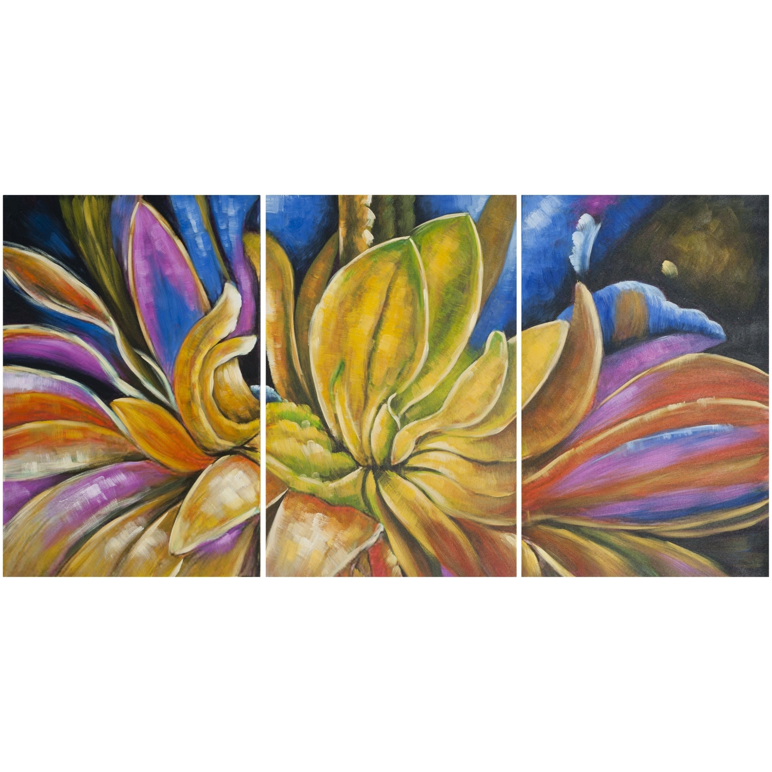 Amazing Triptych Wall Art Canvas Mold - Wall Art Collections ...