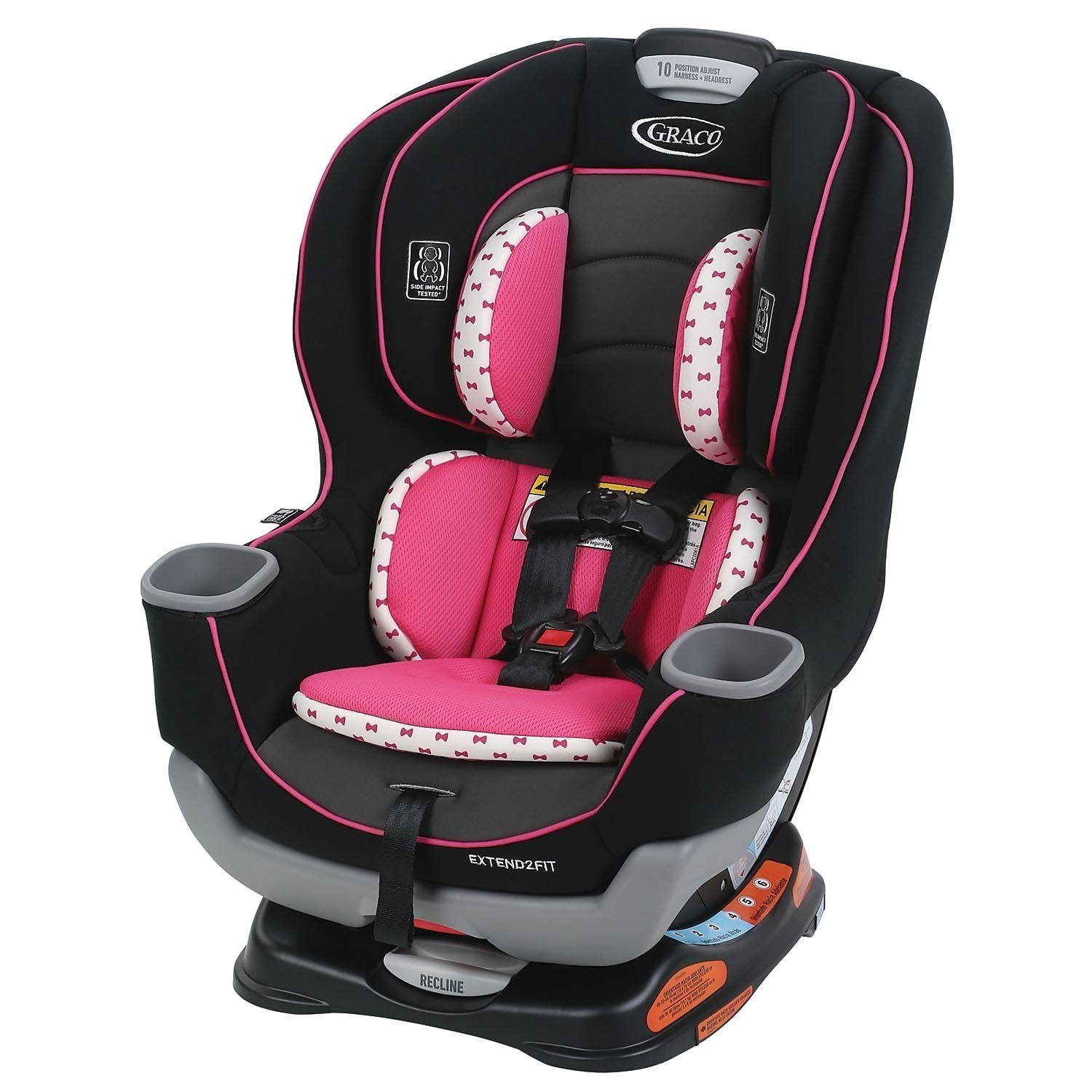 Graco Kenzie Extend2fit Convertible Car Seat Free Shipping Today 11908286