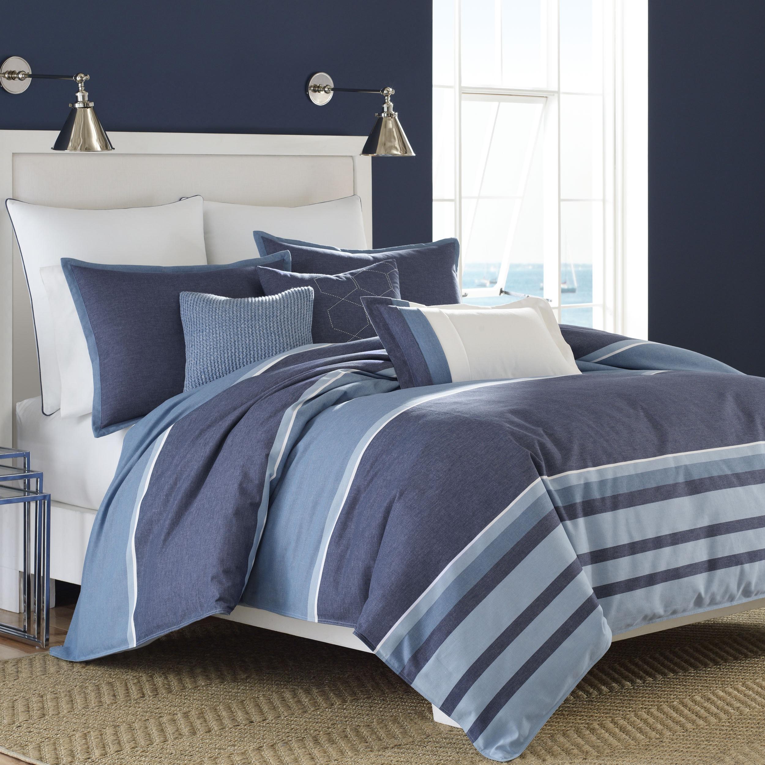 Nautica Broadwater Cotton Comforter Set - Free Shipping Today -  Overstock.com - 18801037