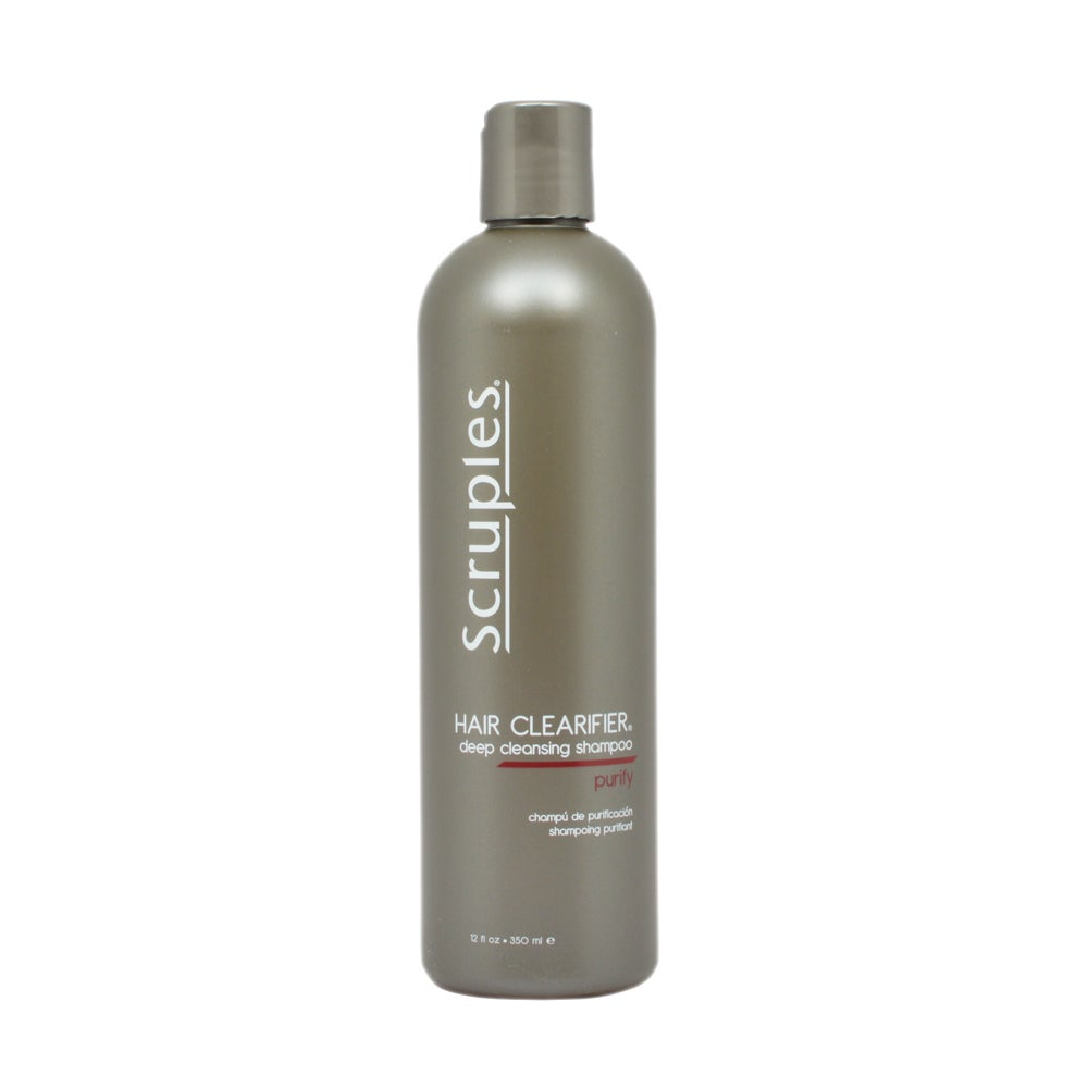 Scruples Hair Clarifier 12 Ounce Deep Cleansing Shampoo Free