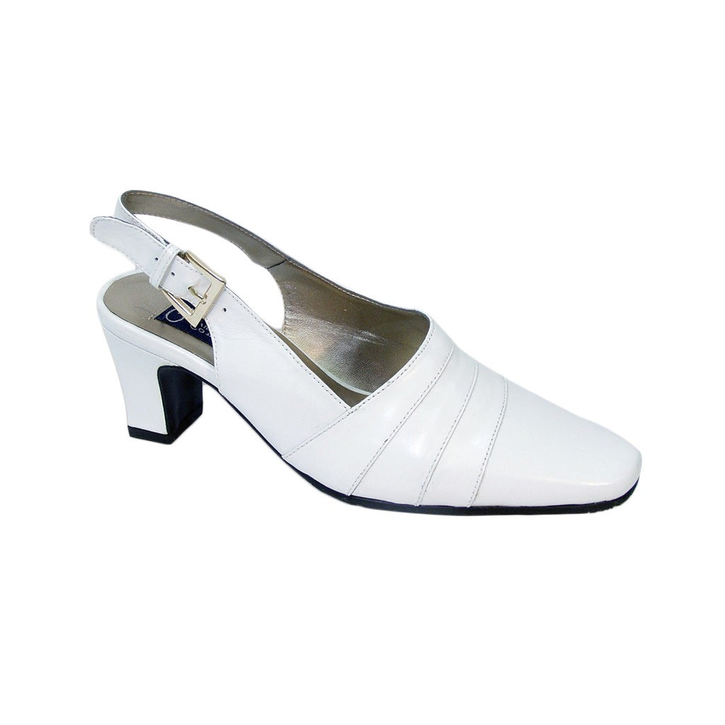 41fb7cc6dad Shop FIC PEERAGE Susie Women s Extra Wide Slingback Pumps - Free Shipping  Today - Overstock - 11911194