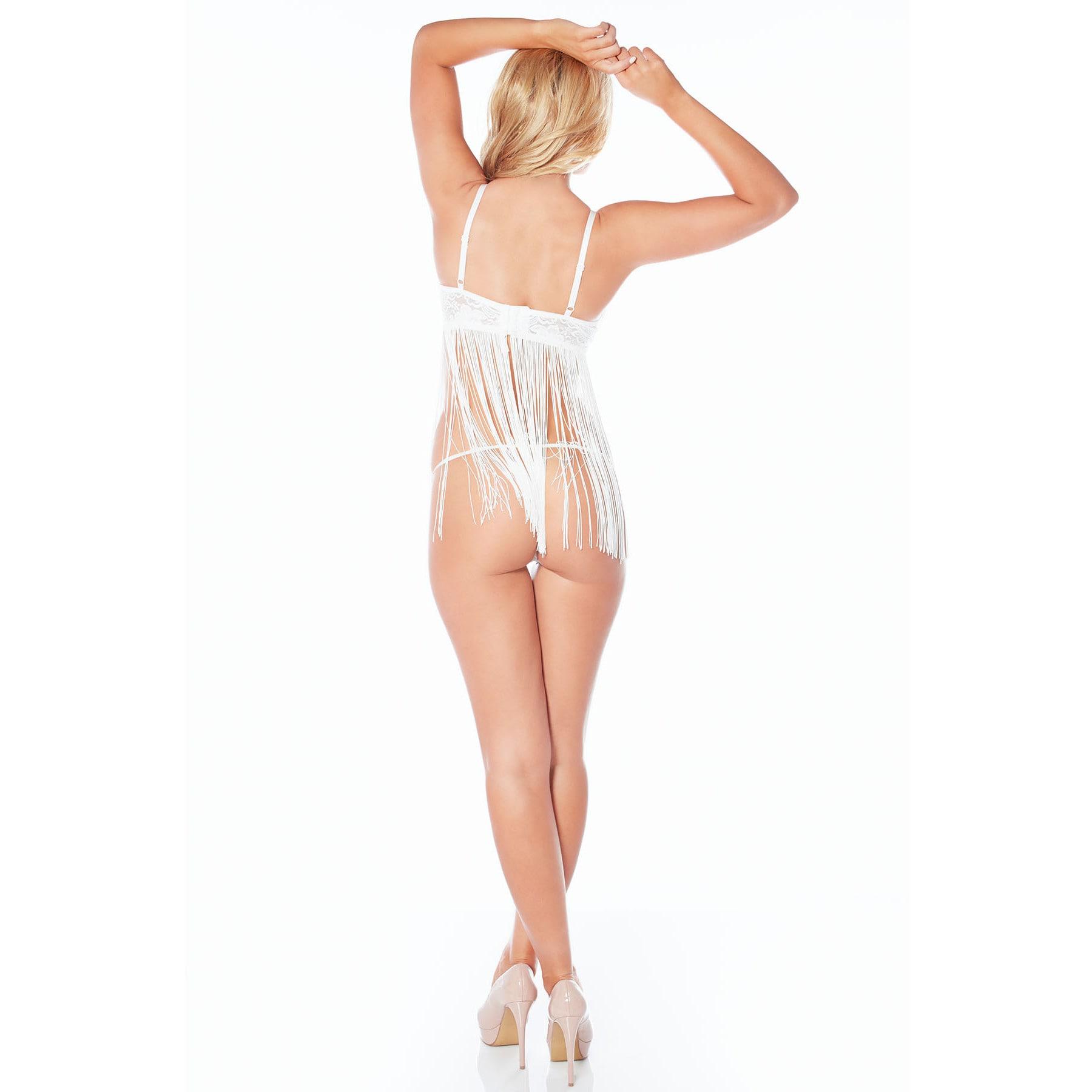 de20c403cd Shop Rhonda Shear Harlequin Women s Fringe Lingerie Set - Free Shipping On  Orders Over  45 - Overstock - 11915034
