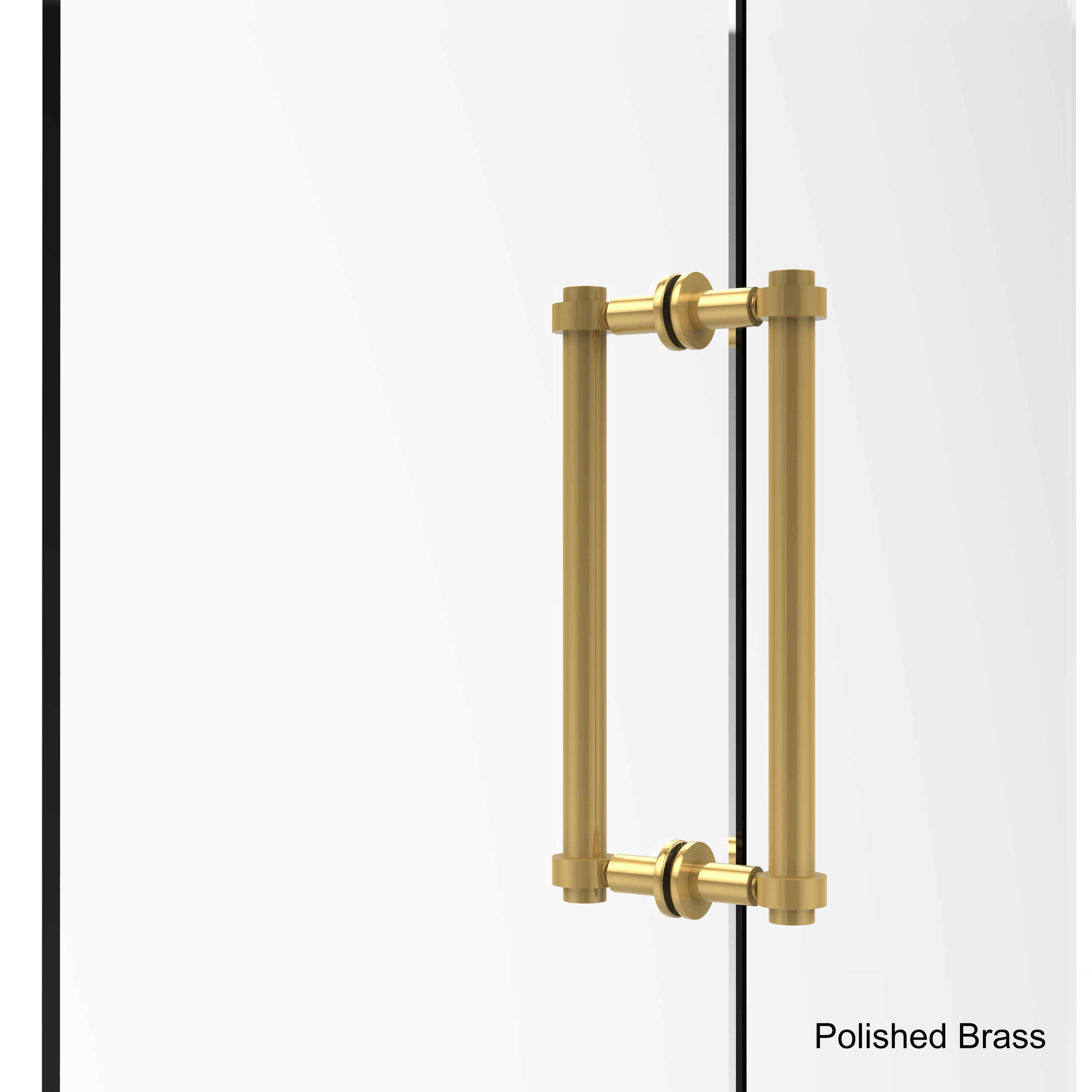 Shop Allied Brass 12-inch Back-to-back Shower Door Pull - Free ...