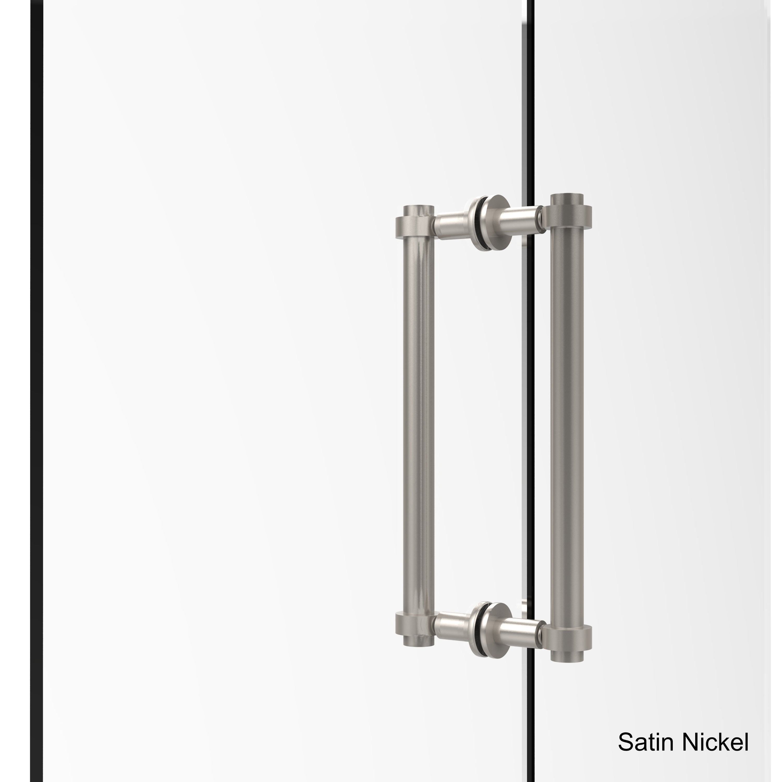 Shop Allied Brass 12 Inch Back To Back Shower Door Pull Free