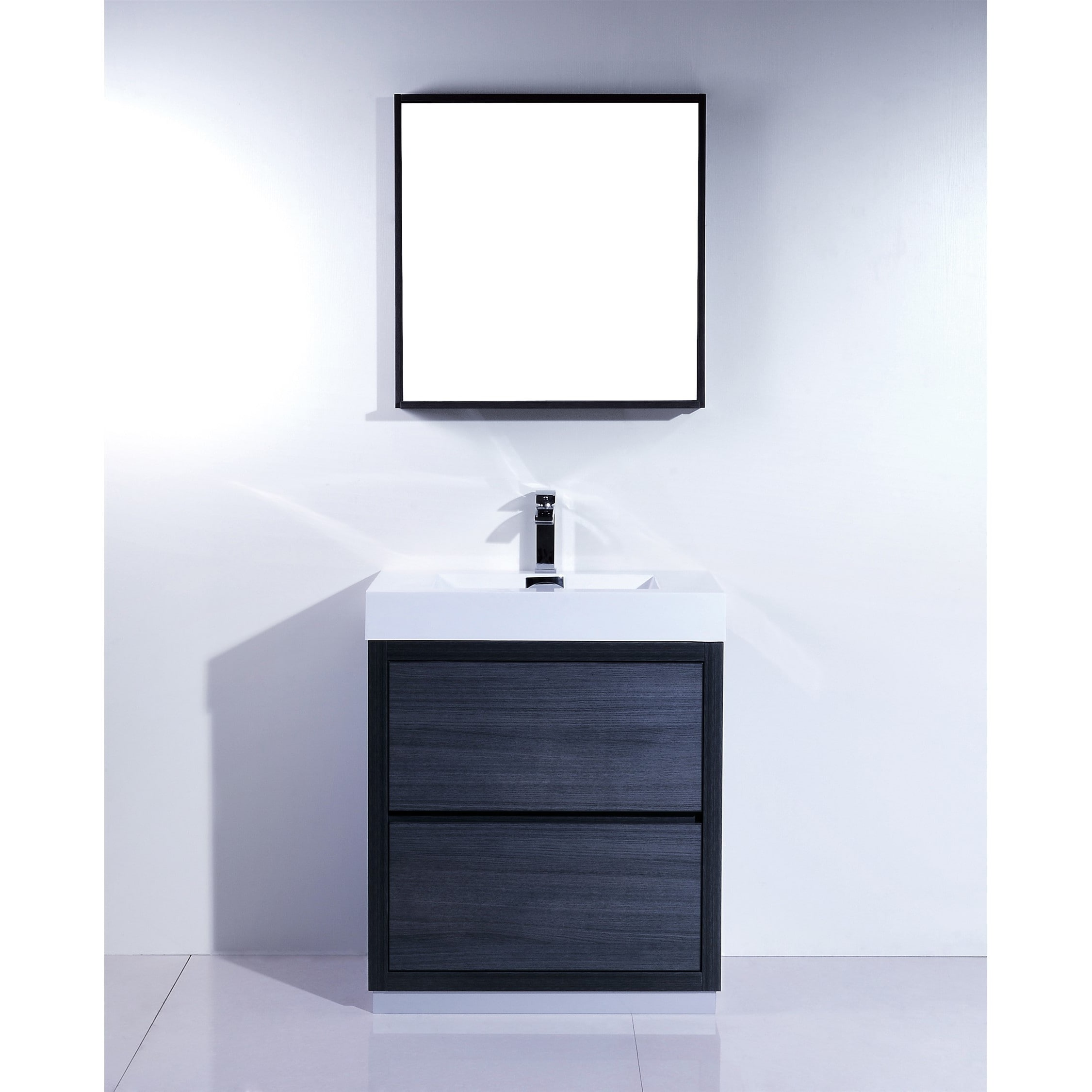 KubeBath Bliss 30-inch Single-sink Bathroom Vanity - Free Shipping ...