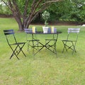 Chestertown Steel 5-piece Patio Dining Set