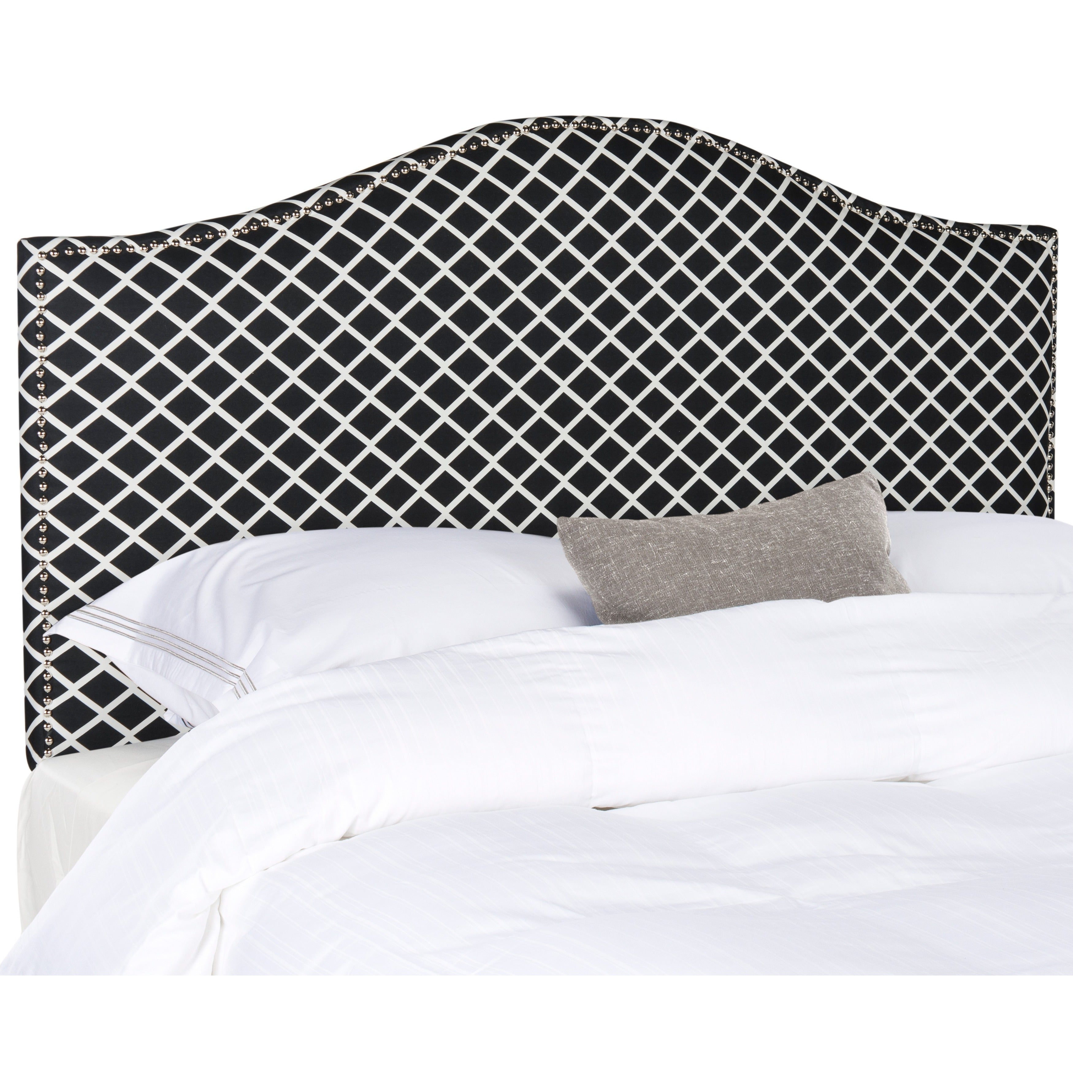 upholstered white appointed house black headboard the and well home five for different luxuries sizes in canopy available
