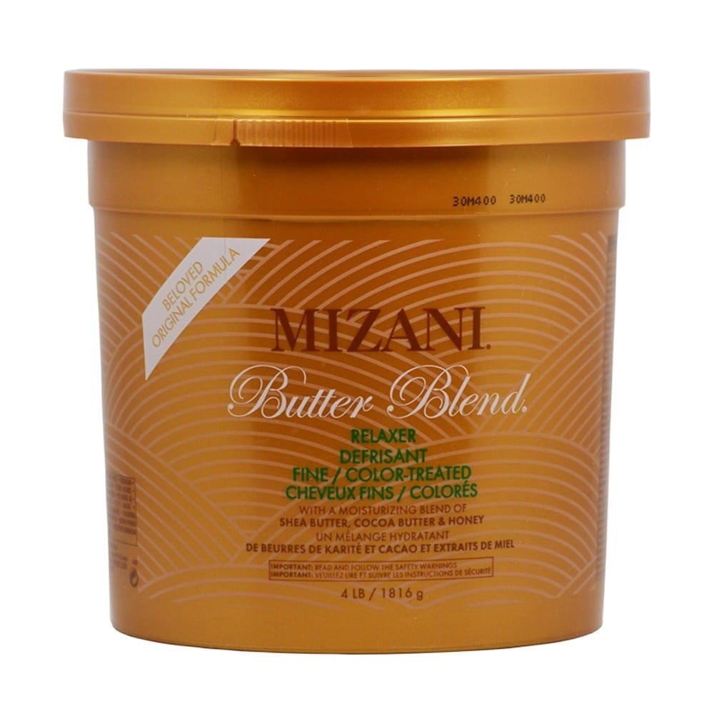 Shop Mizani Butter Blend 4 Pound Hair Relaxer For Finecolor Treated