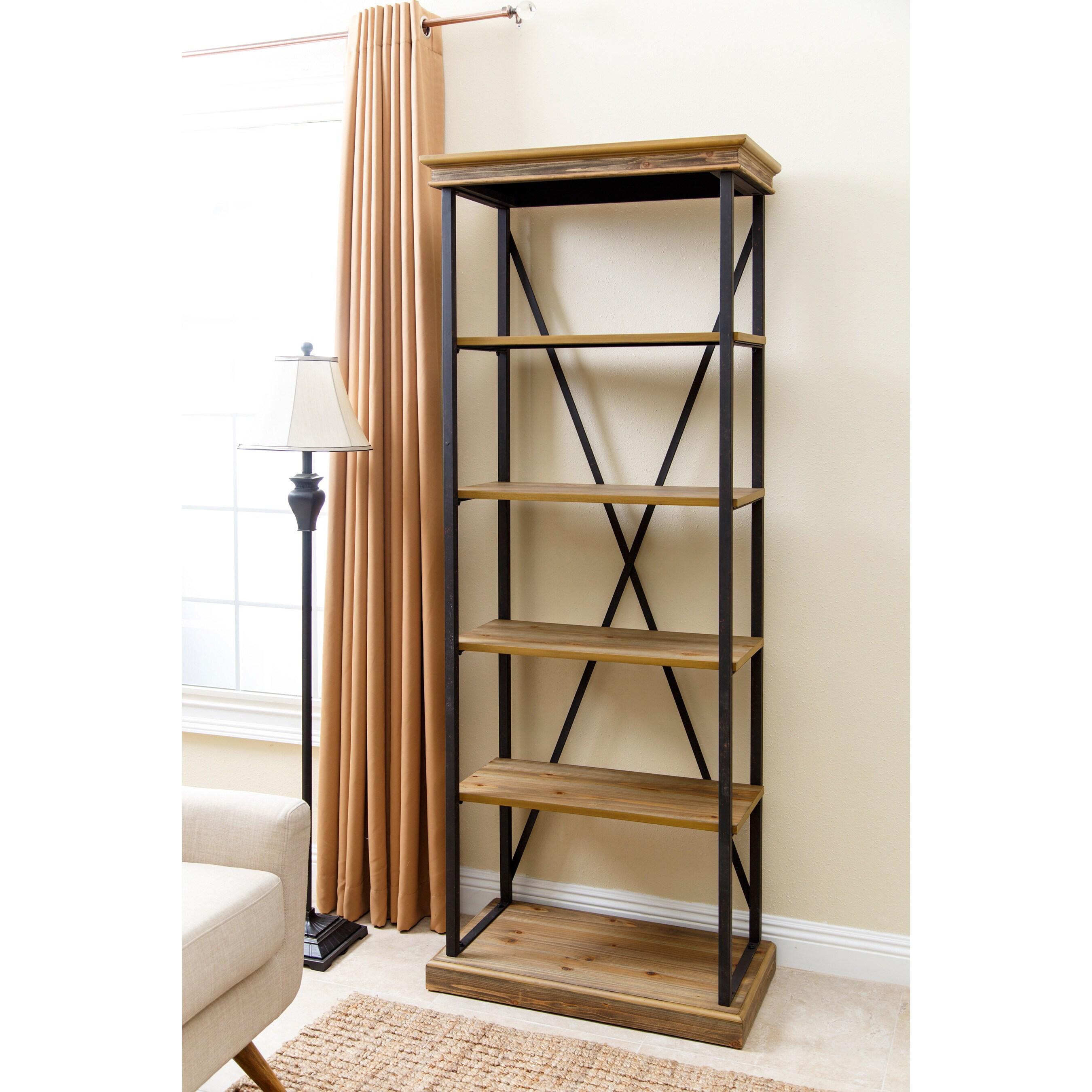 locker home metal engelbart and free carbon bookshelf product collection industrial bookcase shelf today shipping wood loft garden overstock door