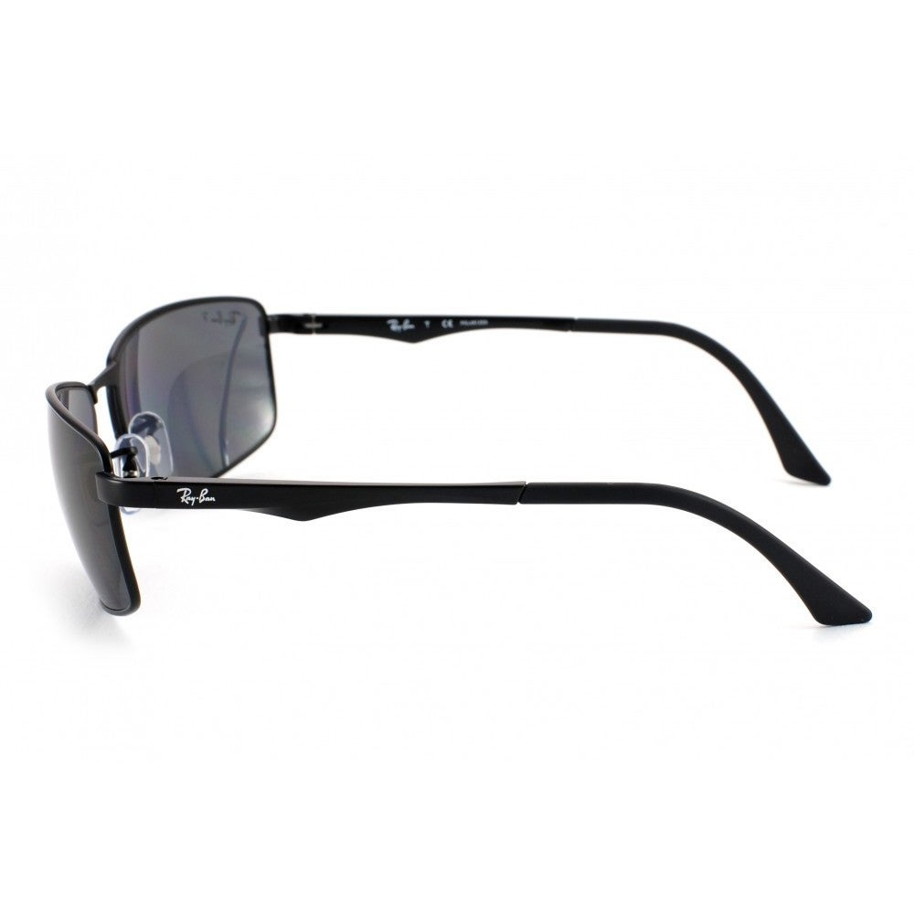 f51dbcc416 Shop Ray-Ban RB3498 006 81 Black Frame Polarized Grey Gradient 64mm Lens  Sunglasses - Free Shipping Today - Overstock - 11929661