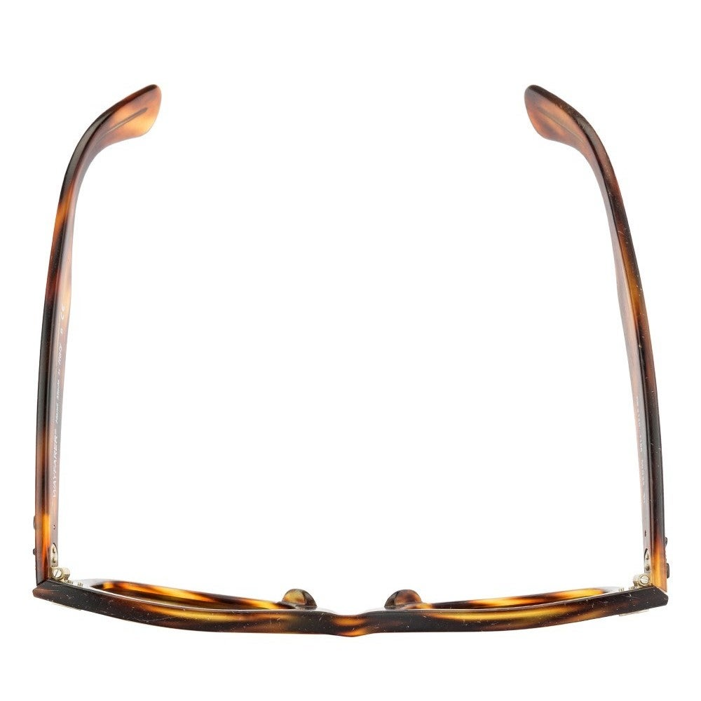 6924a10bce Shop Ray-Ban RB2140 1186 Original Wayfarer Distressed Tortoise Frame Brown  Classic 50mm Lens Sunglasses - Free Shipping Today - Overstock - 11929958