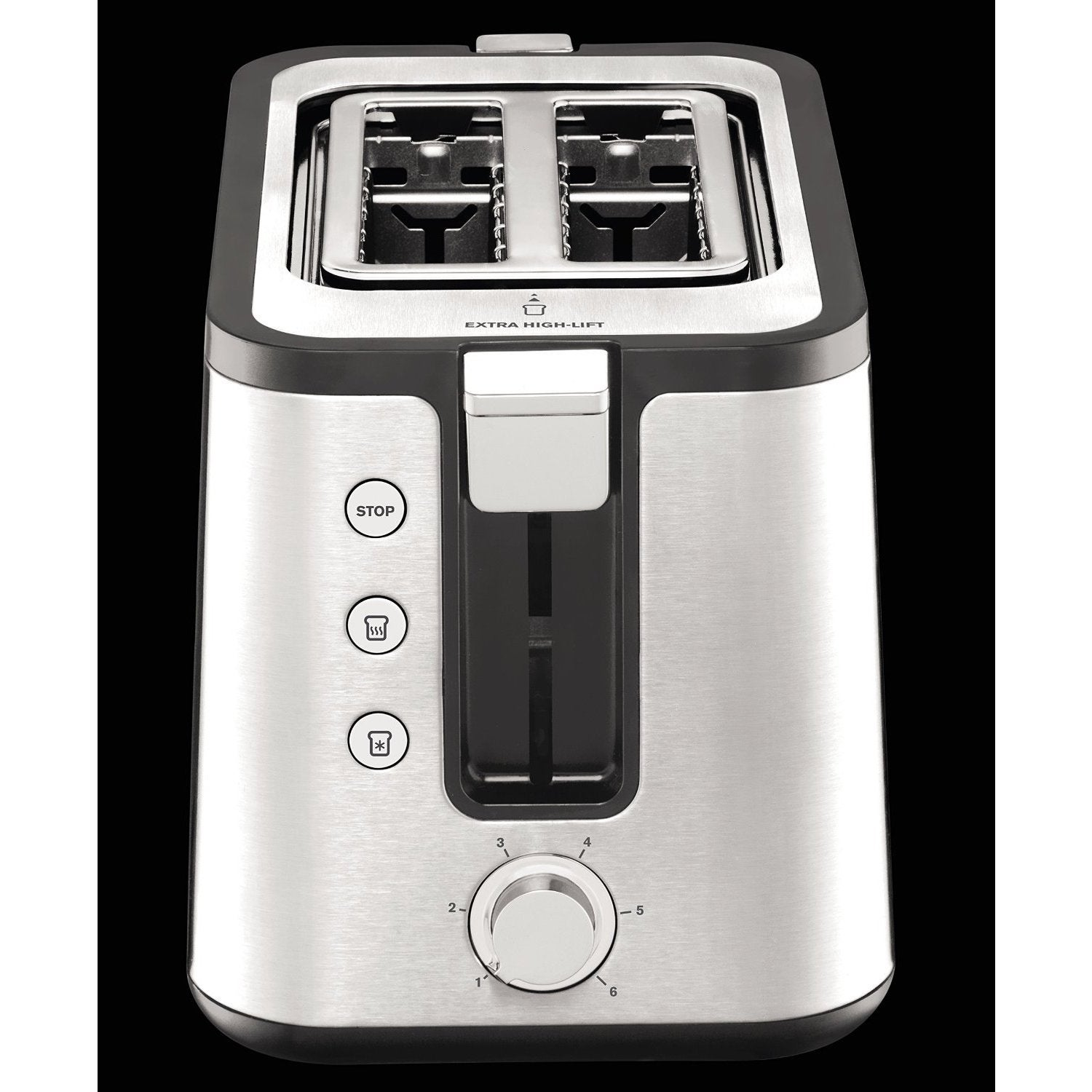 stainless with set brushed and com chrome krups slot amazon breakfast steel dp housing toaster