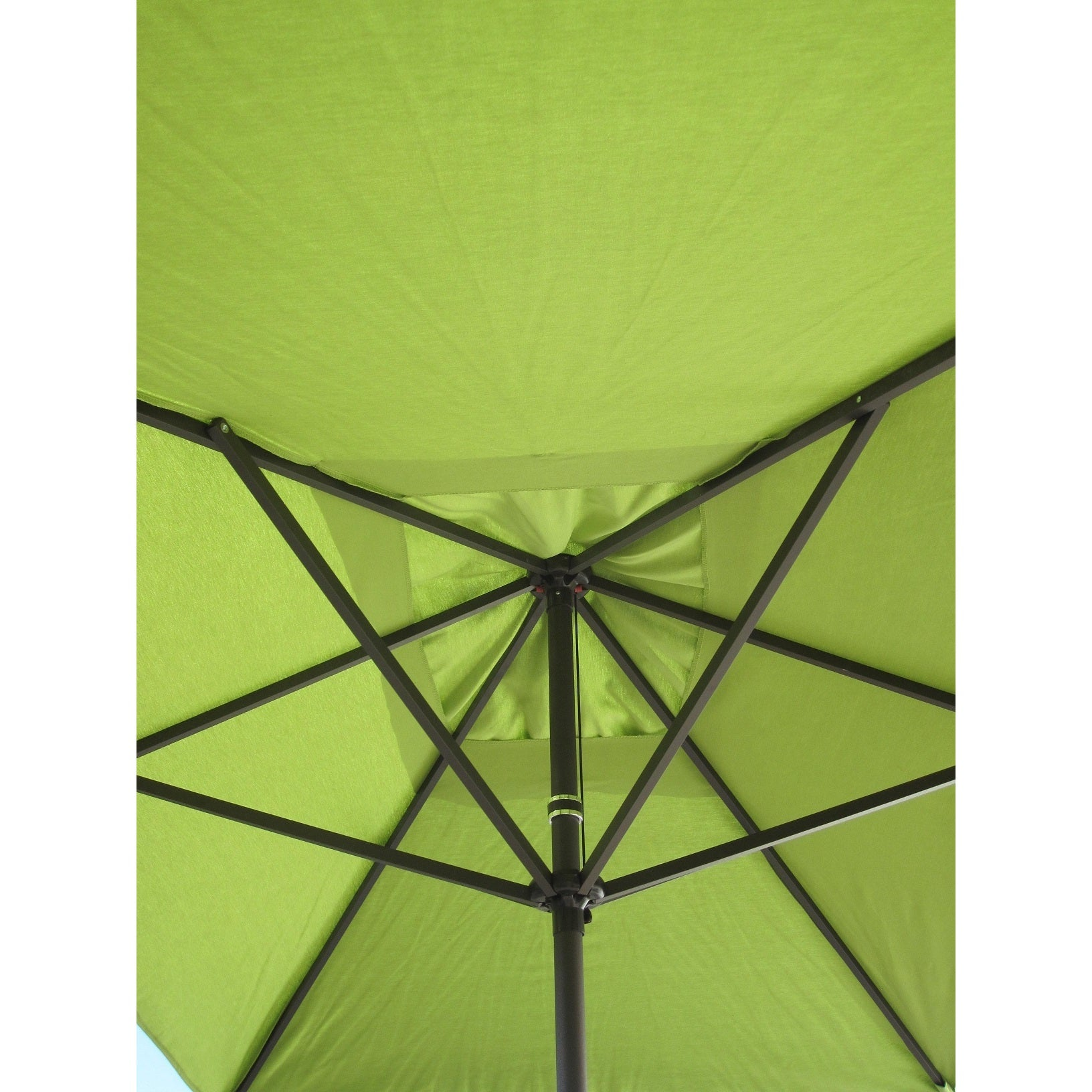 Shop Escada Designs Lime Green 10u0027 X 6u0027 Rectangular Patio Umbrella   Free  Shipping Today   Overstock.com   11933904