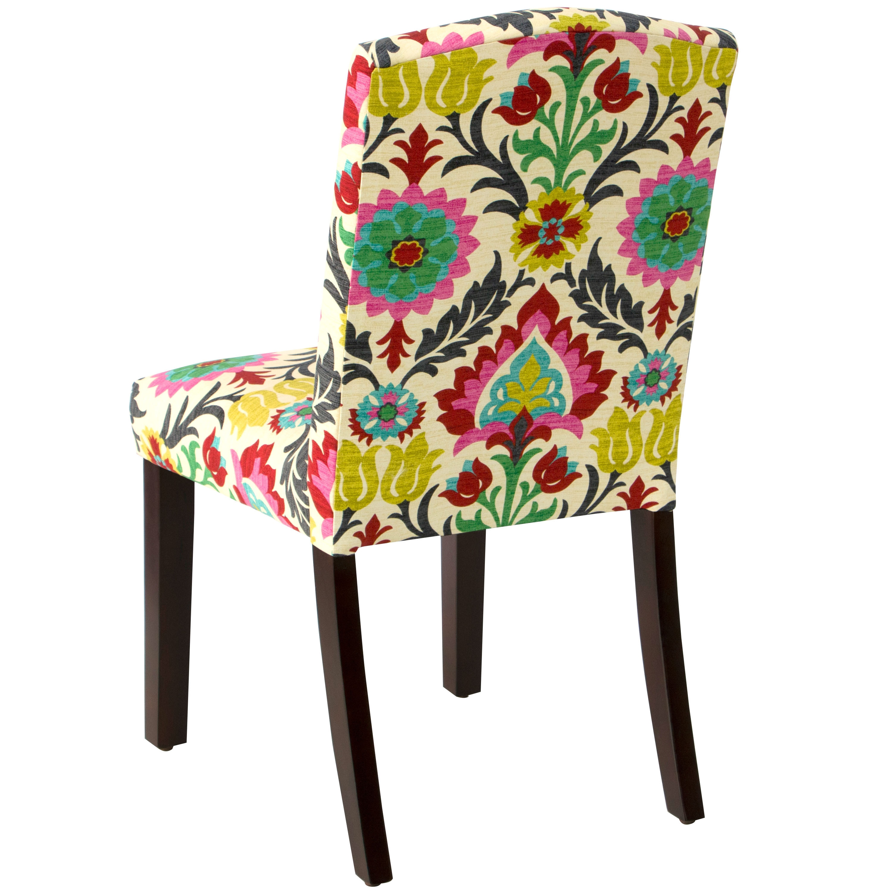 Shop Skyline Furniture Santa Maria Desert Flower Cotton Upholstered Arched  Dining Chair   On Sale   Free Shipping Today   Overstock.com   11937002