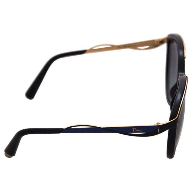 b0693affd4b7 Shop Christian Dior Dior Metaleyes 1 S 6OAHD - Black Blue Gold - Free  Shipping Today - - 11949194