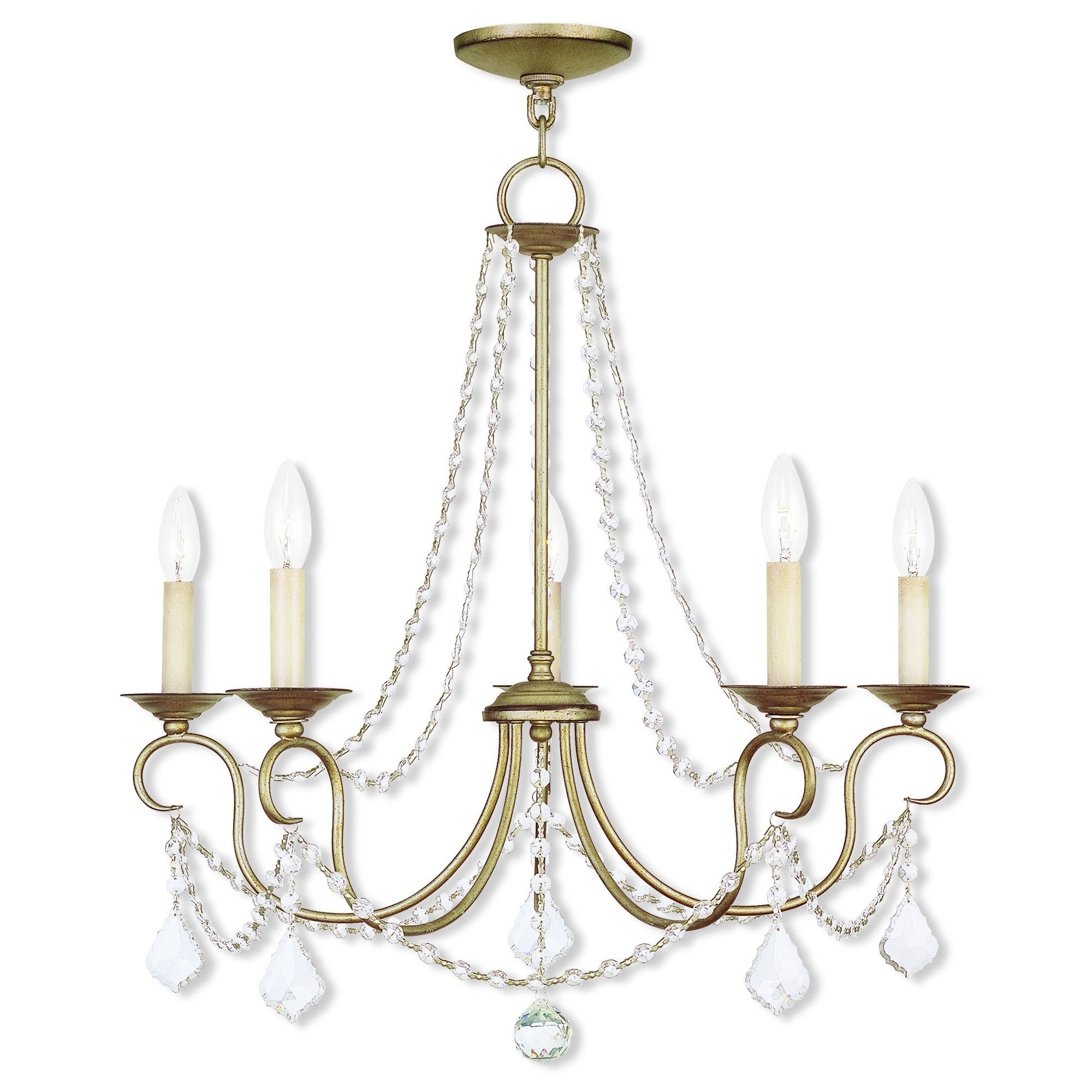 Livex lighting pennigton silver steel crystal 6 light antique leaf livex lighting pennigton silver steel crystal 6 light antique leaf chandelier free shipping today overstock 18837589 arubaitofo Choice Image