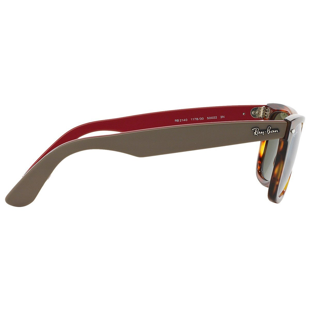 0c226522f2 Shop Ray-Ban Wayfarer RB2140 117830 Unisex Bi-color Tortoise Frame Silver  Flash Mirror Lens Sunglasses - Ships To Canada - Overstock - 11951998