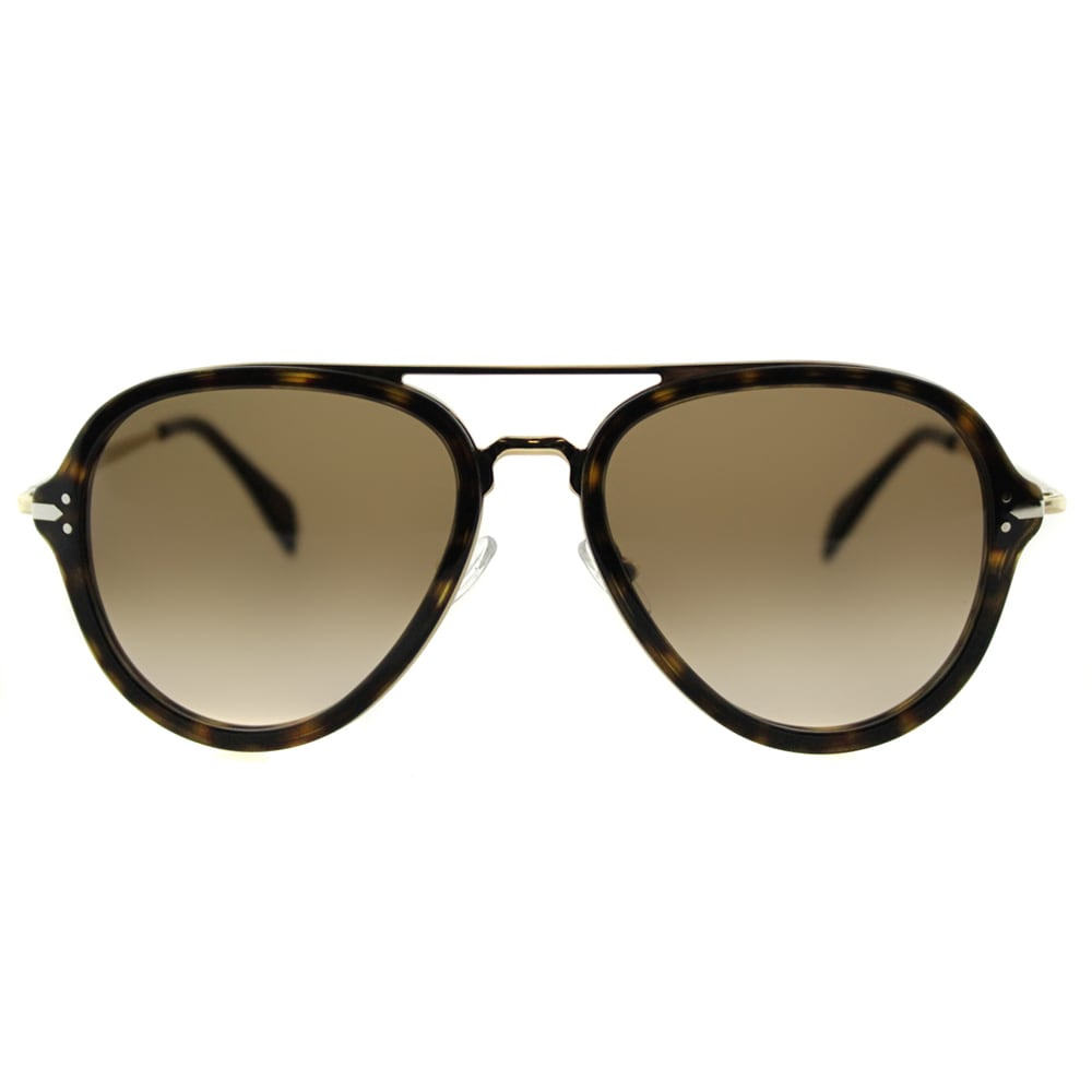 539763d88a98c Shop Celine CL 41374 ANT Dark Havana And Gold Grey Polarized Lens Aviator  Sunglasses - Free Shipping Today - Overstock - 11952082