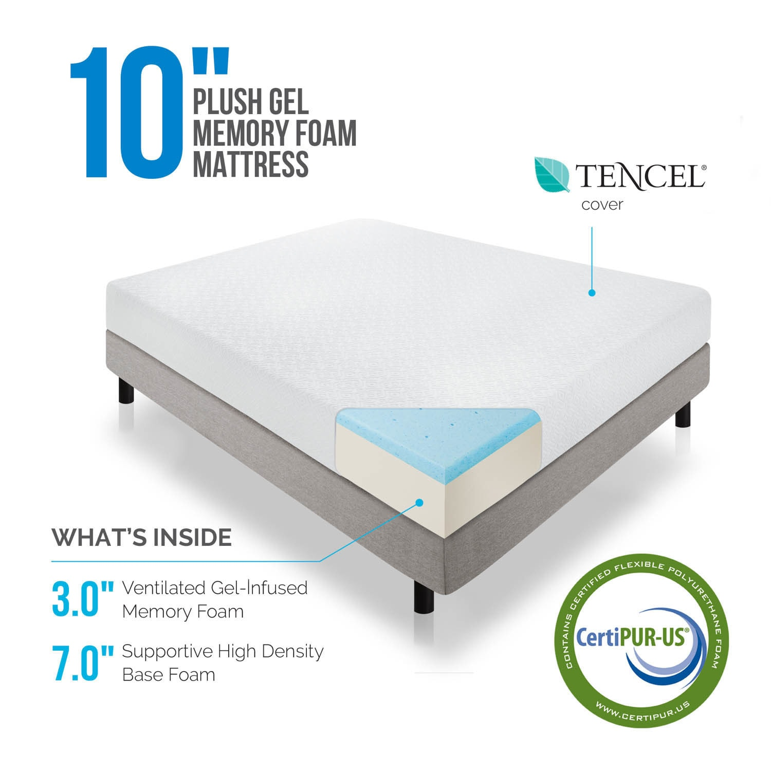 item set number gel mattresses upbeat foam memory sealy and queen t mattress stablesupport products