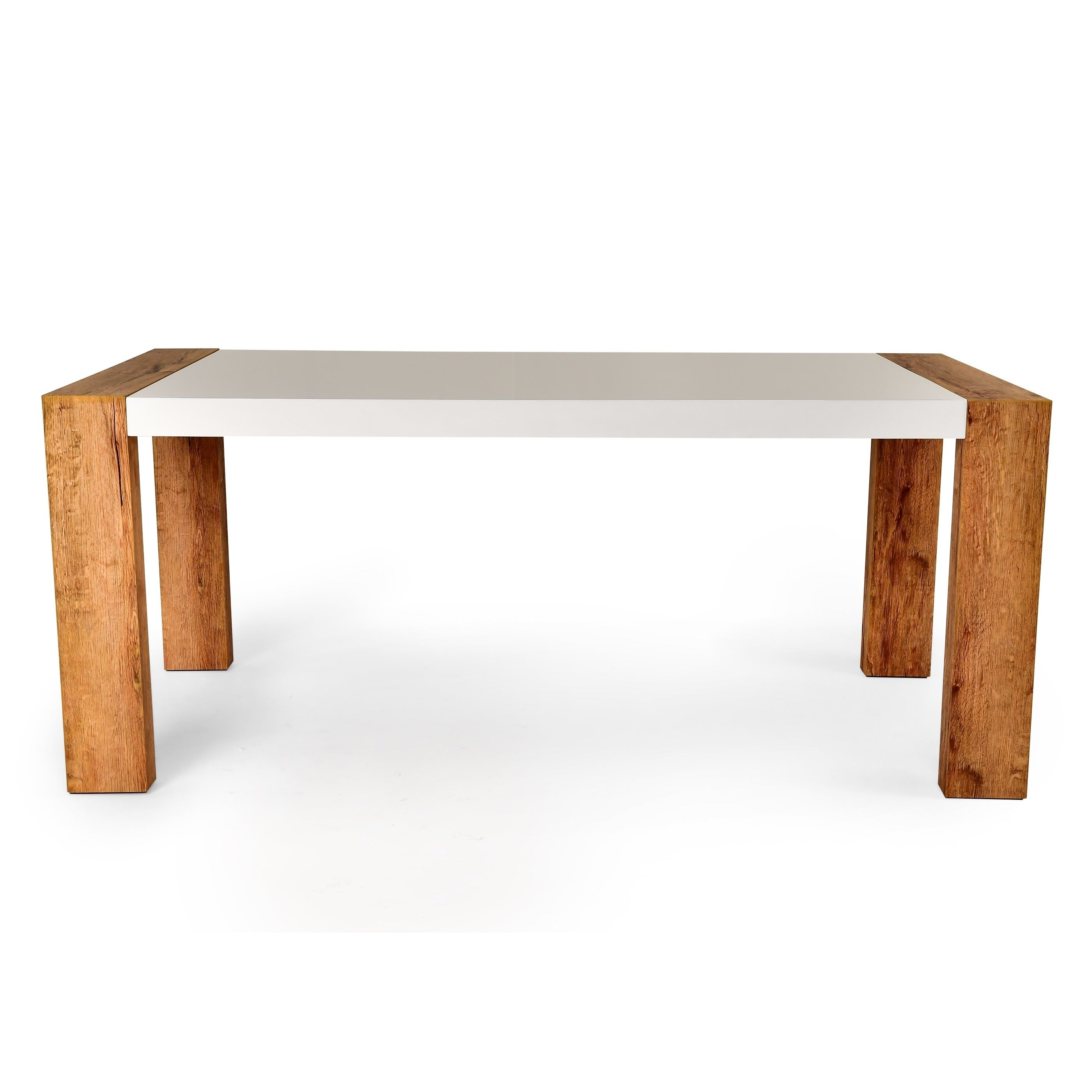 Shop Greyson Living Setwick 6 Foot Dining Table   White   Free Shipping  Today   Overstock.com   11959301