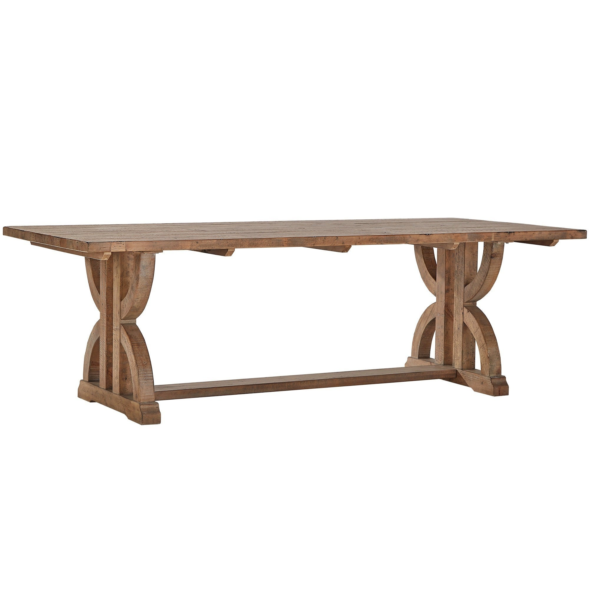Paloma Salvaged Reclaimed Wood Rectangular Trestle Dining Set by iNSPIRE Q  Artisan - Free Shipping Today - Overstock.com - 18844916