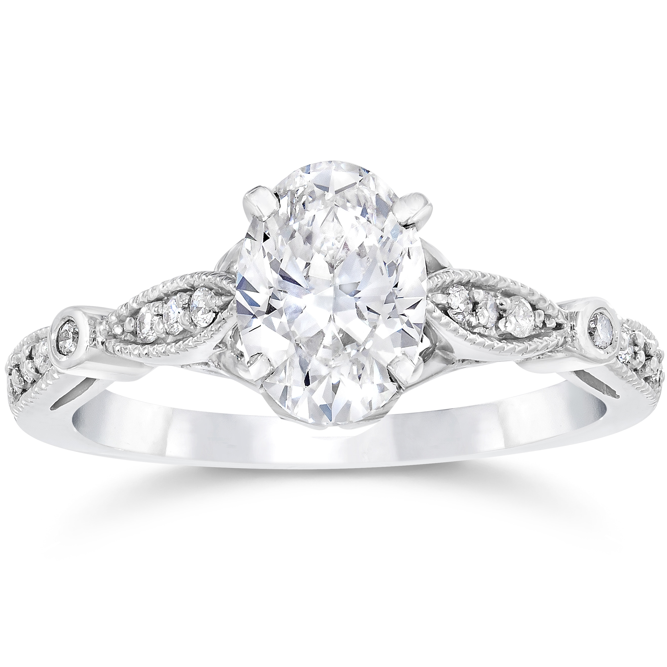 oval a with x rings f palladium in setting gallery ovals cut colour engagement e hand diamond made vs trilogy clarity