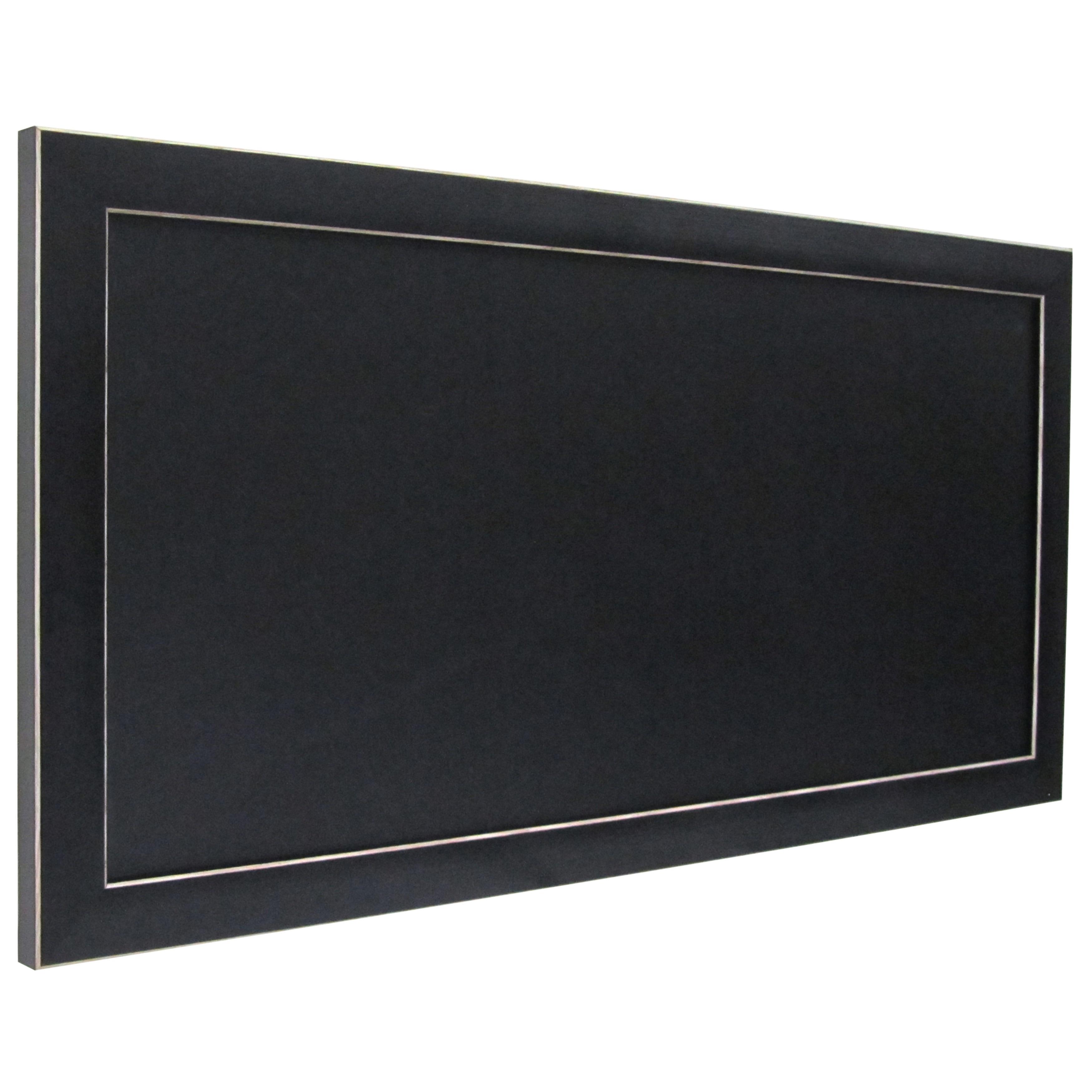 Black Framed Magnetic Chalkboard On Free Shipping Orders Over 45 11964472
