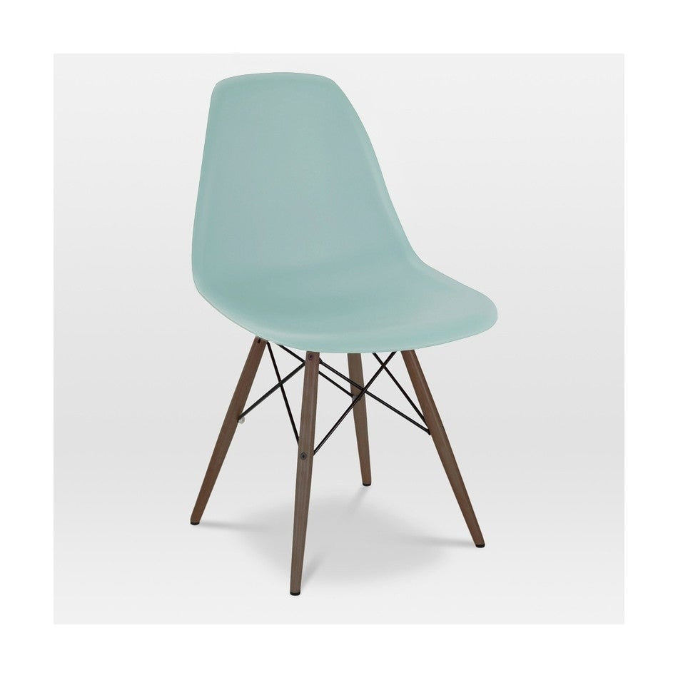 Charmant Shop Trige Surfin Mid Century Side Chair Walnut Base (Set Of 2)   Free  Shipping Today   Overstock.com   11967769