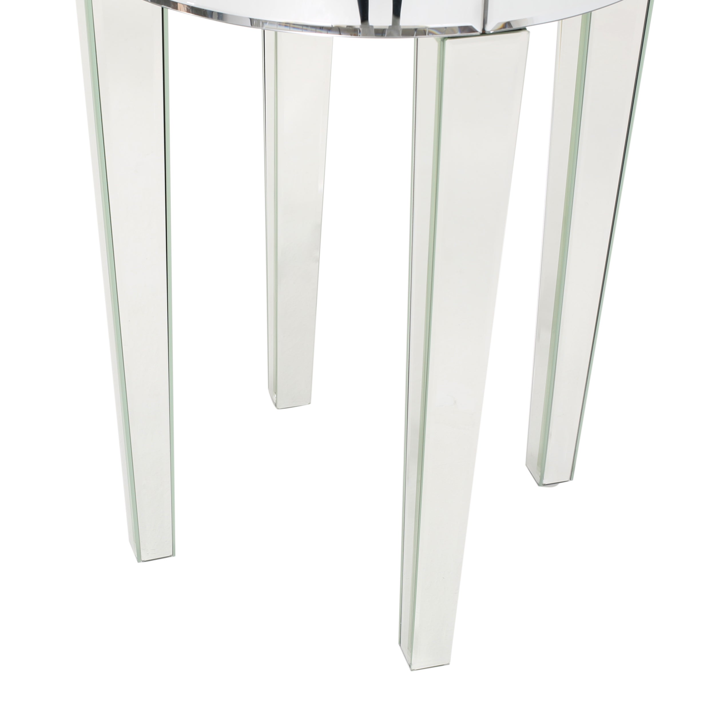 white round end table. Shop Normandie Mirrored Round End Table By Christopher Knight Home - On Sale Free Shipping Today Overstock.com 11968912 White 6