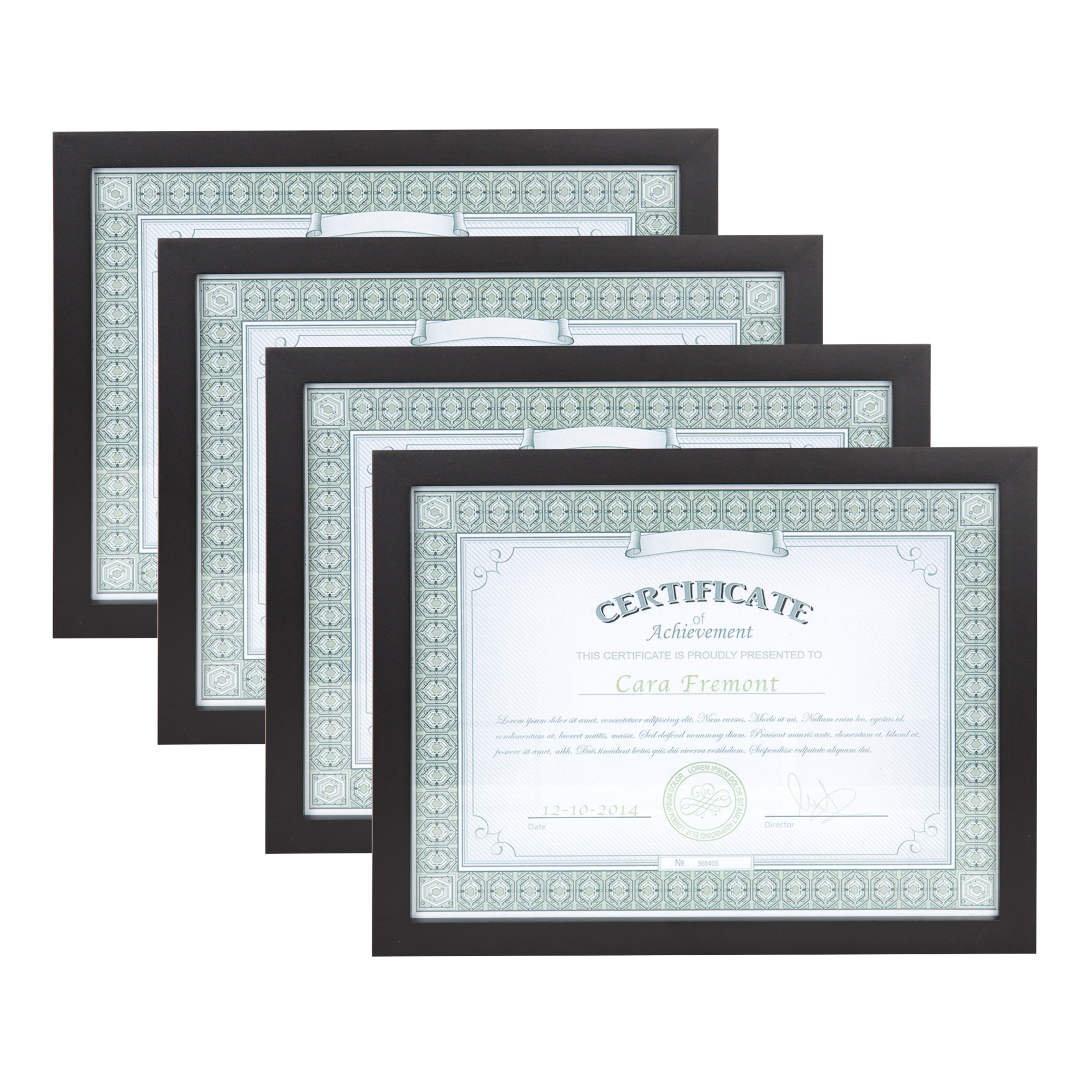 Black wood gallery document frame pack of 4 free shipping on black wood gallery document frame pack of 4 free shipping on orders over 45 overstock 18857567 jeuxipadfo Choice Image