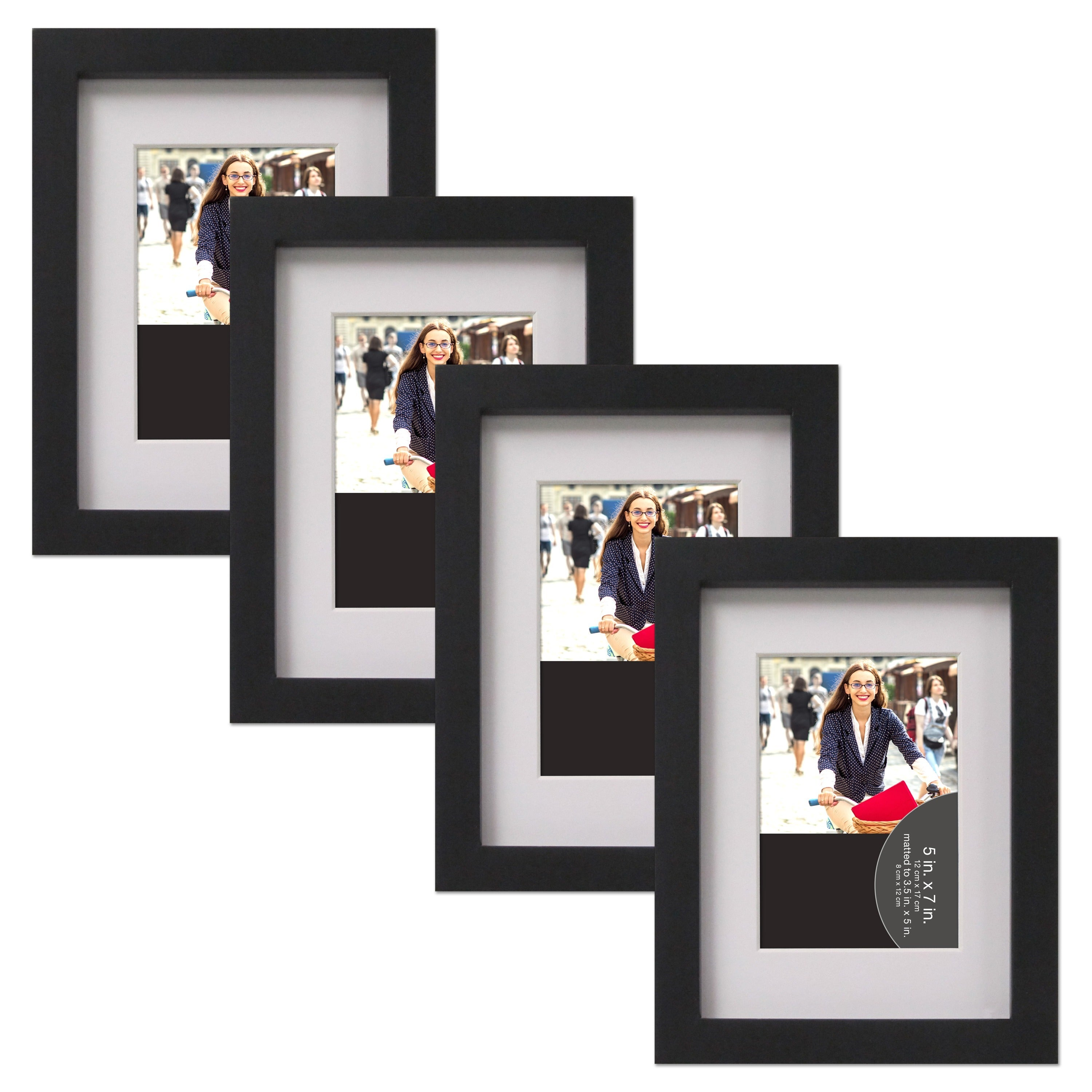 Wood Gallery Picture Frames (Pack of 4) - Free Shipping On Orders ...