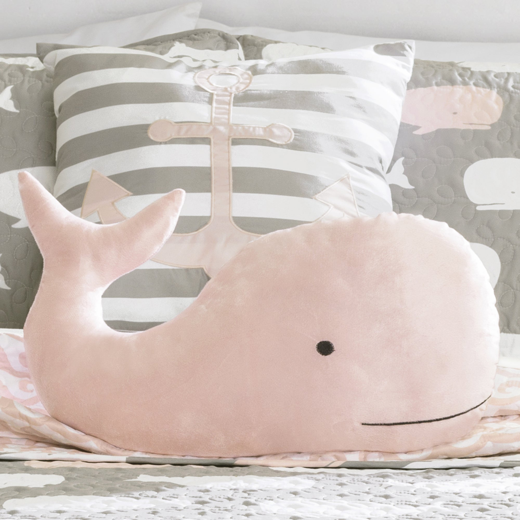 Lush Decor Whale Print 5-piece Quilt Set - Free Shipping Today ...