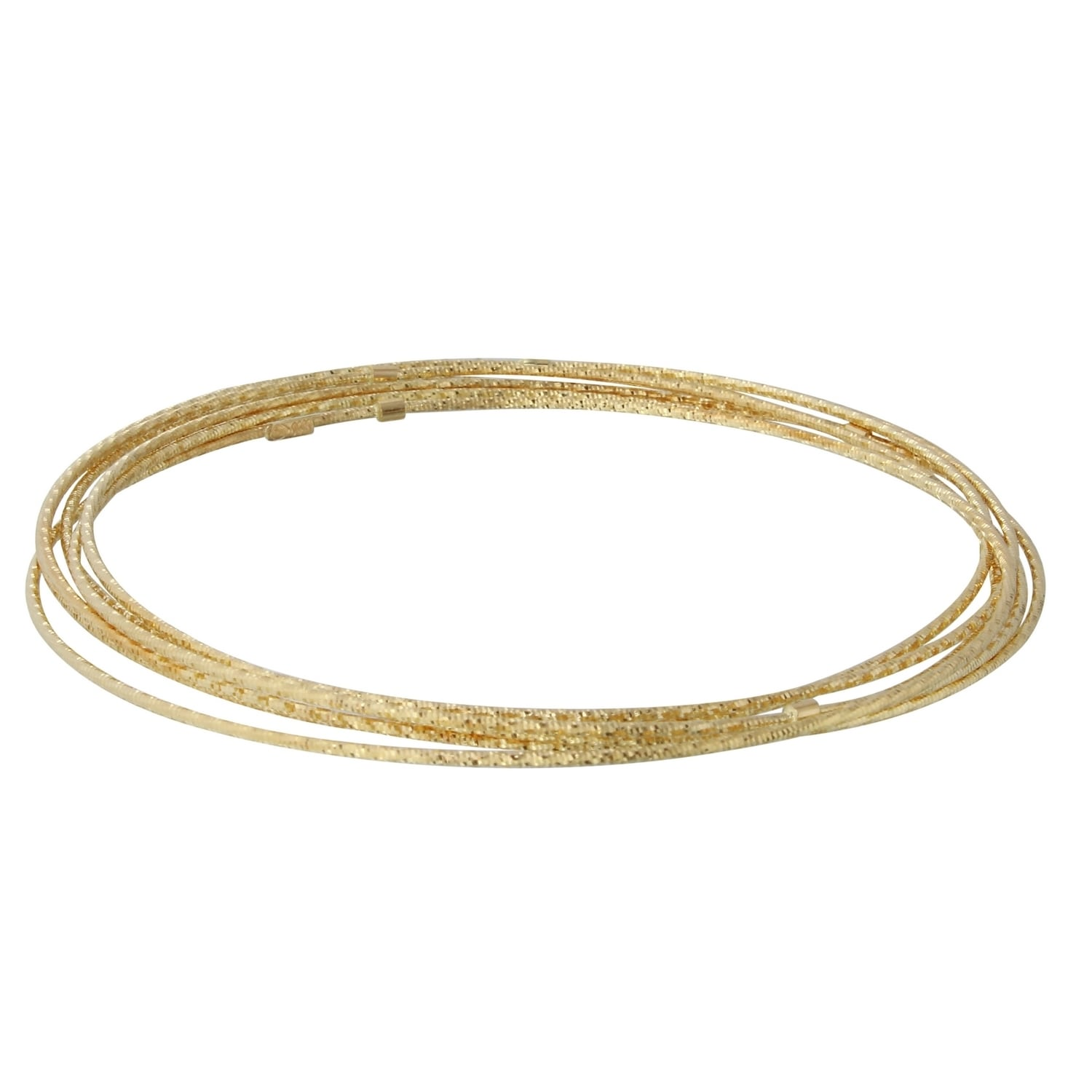 flex products tube bangle bar plated gold bangles knot bracelets jewelree karat