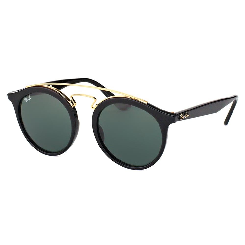 506895bf34f Ray-Ban Women s RB 4256 601 71 Gatsby I Black Plastic Green Lens Fashion  Sunglasses