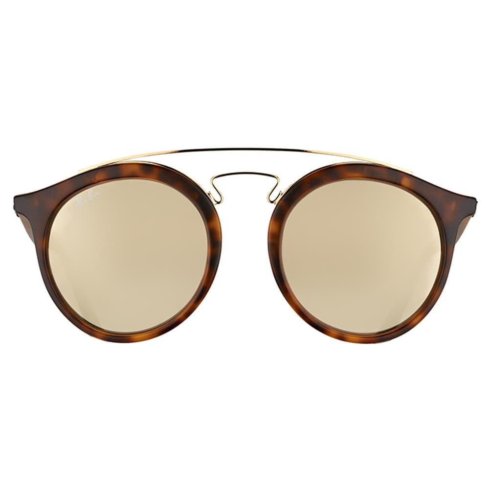 3a074d043c Shop Ray-Ban RB 4256 60925A Gatsby I Matte Havana Plastic Fashion Sunglasses  with Gold Mirror Lens - Free Shipping Today - Overstock - 11980030