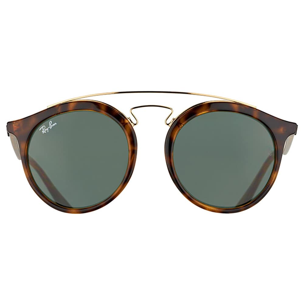 96518001b4 Shop Ray-Ban Women s RB 4256 710 71 Gatsby I Havana Plastic Fashion  Sunglasses with Green Lens - Free Shipping Today - Overstock - 11980291
